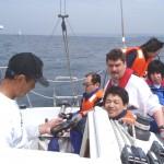保田漁港へデイクルージング